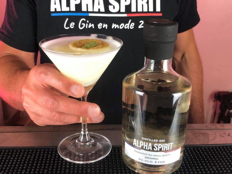 Cocktail Gin : Le Samouraï Sour