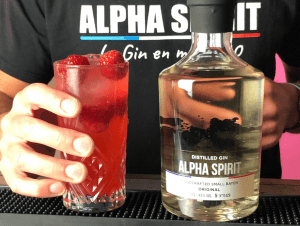 Cocktail Gin : Le Red One