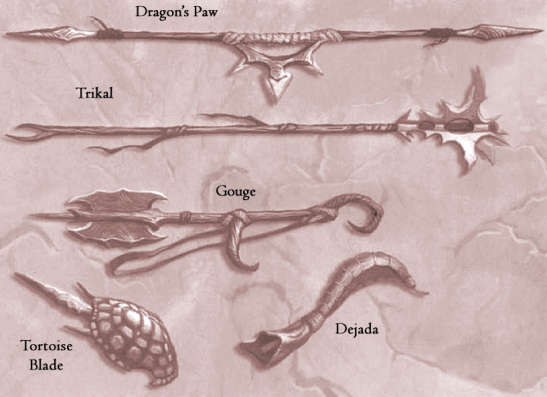 Athasian weapons 2