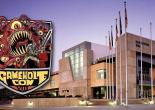 GameHole Con logo and convention center