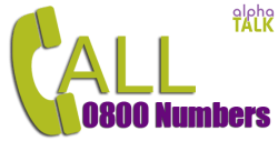 0800 Numbers is Freephone Numbers Provided by AlphaTalk