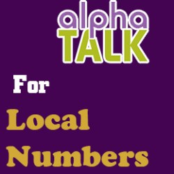 Local Numbers