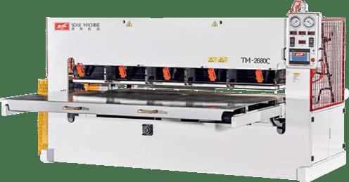 TM2680C - Positive and Negative Pressure Veneer Pressing Machine