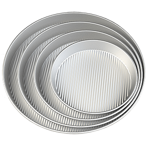 Deep Pan - Alusteel Ribbed