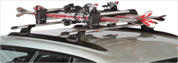 Ski and Snowboard Roof Rack Accessory