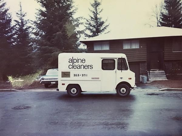 Alpine's very first van 1970