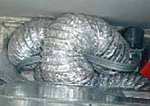 Dryer Vent Cleaning - Duct Run May Be Restrictive or Excessive