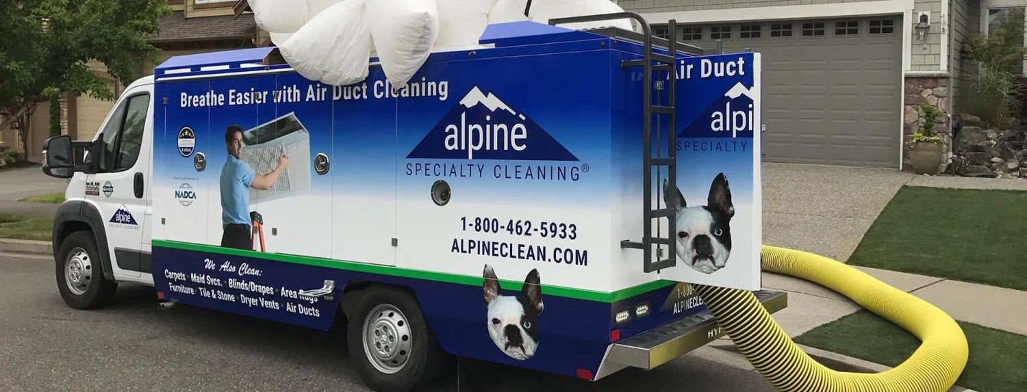 Seattle Air Duct Cleaning Truck