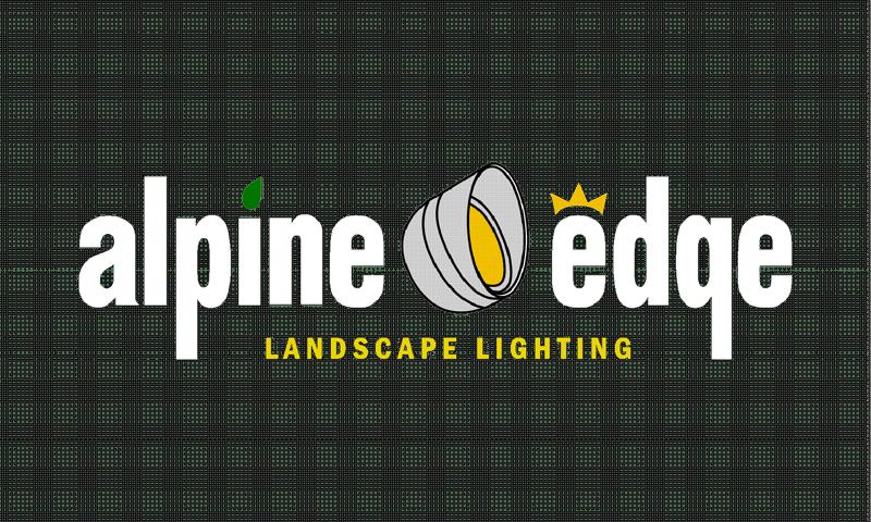 alpine edge landscape lighting