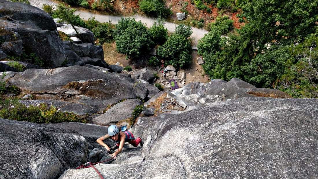 Mosquito, an amazing Squamish short multipitch