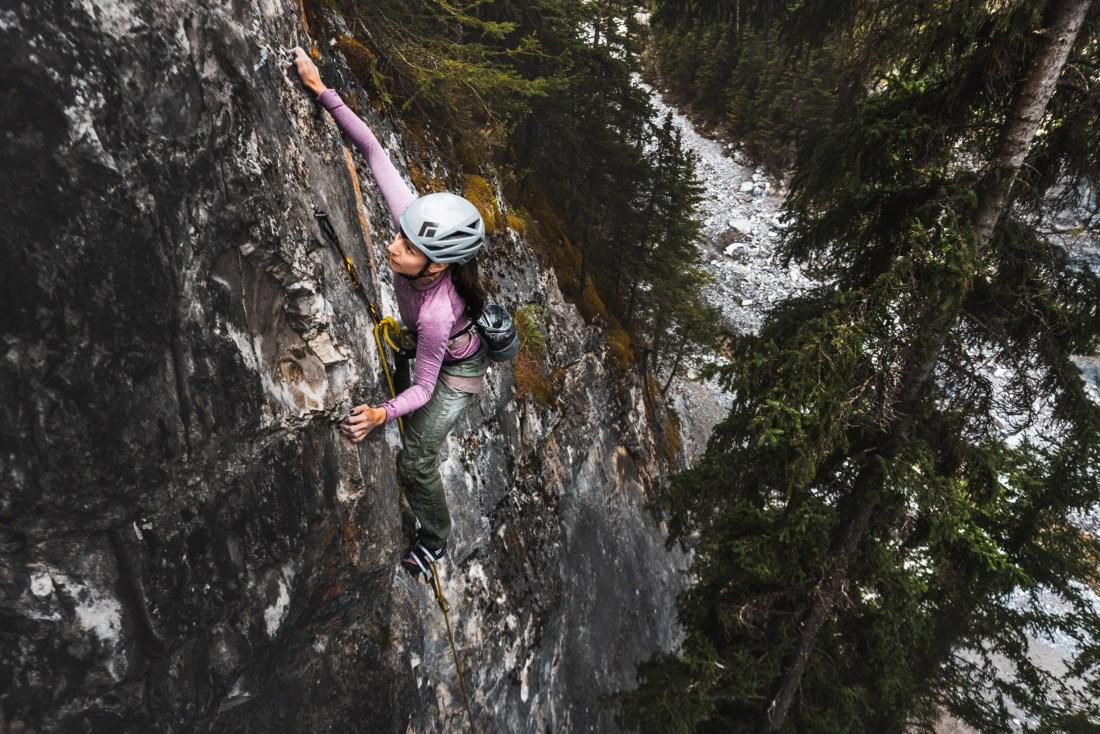 Jolene Climbing Time Lapse at Cougar Canyon