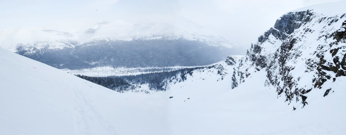 Panorama from the top of Jimmy Jr. Bowl