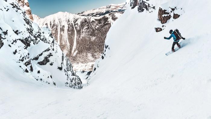 Snowboarding Panorama Wallpaper 2560x1440