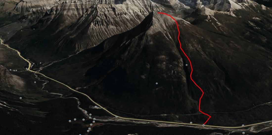 Vermillion Peak Ski Tour Access