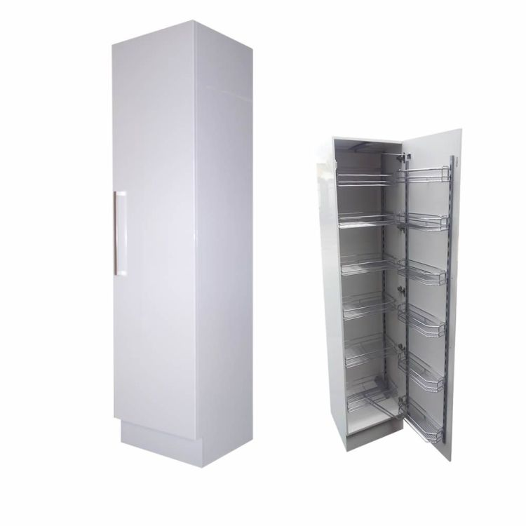 Pull Out Pantry 60cm Right Hand Hinge Kitchen Cabinets Perth