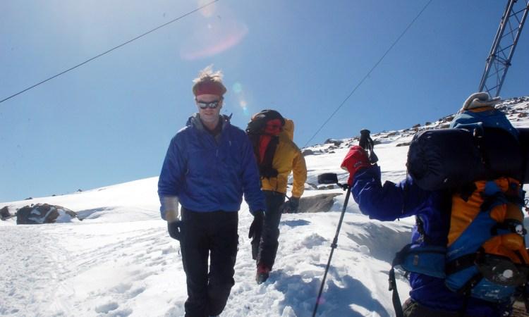 Kashmir alpine ski
