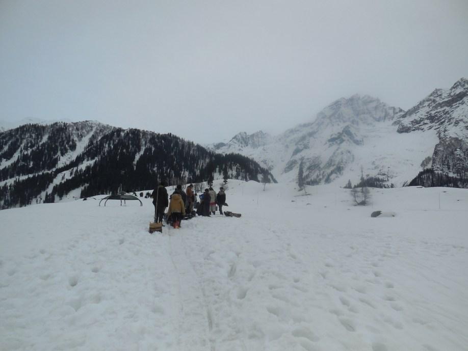 winter sports sonamarg