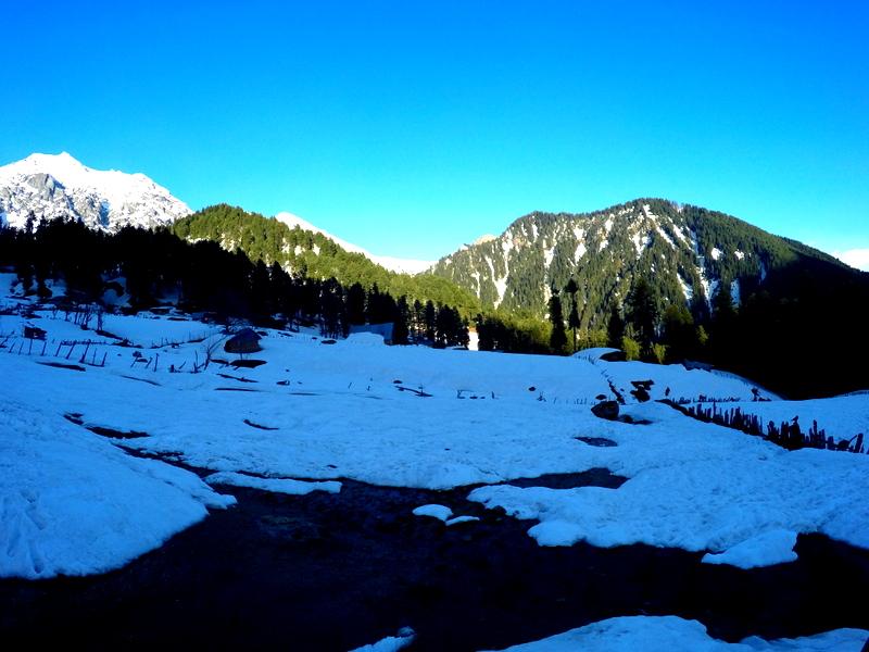 Aru valley Short hiking
