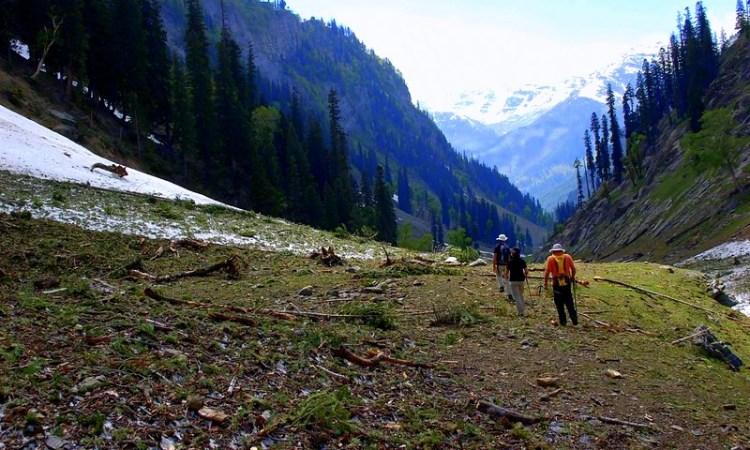 short treks in pahalgam