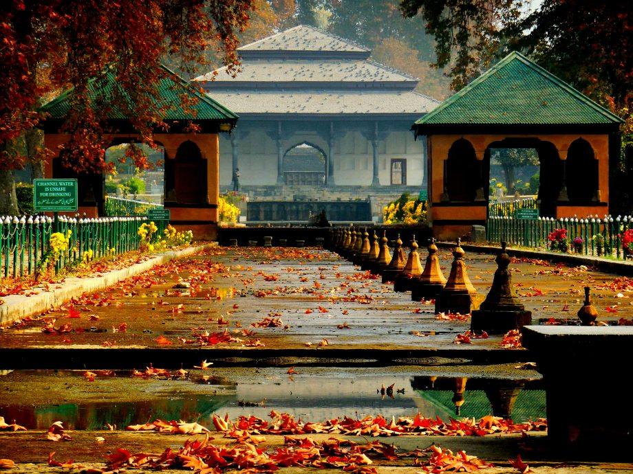 Srinagar mughal garden