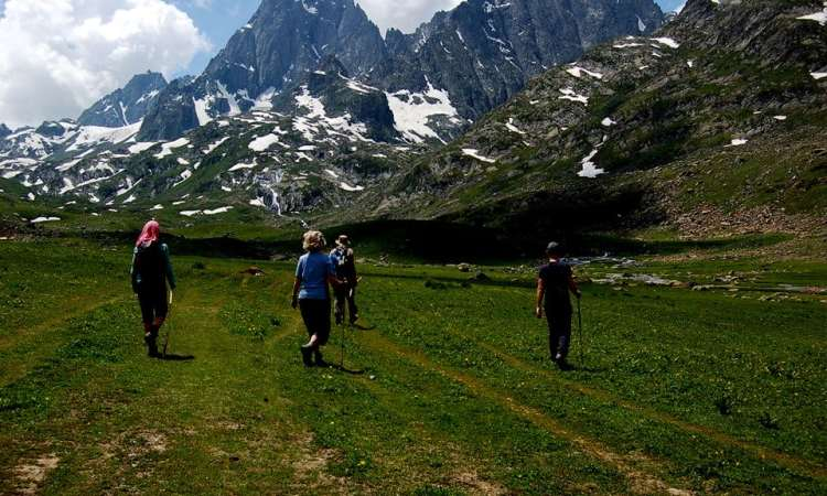 Day trek in Sonamarg Kashmir