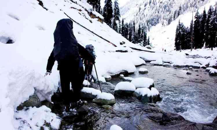 winter in Aru valley