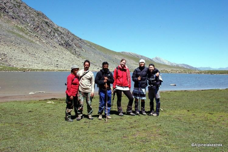 Hiking in Norh Indian Himalayas