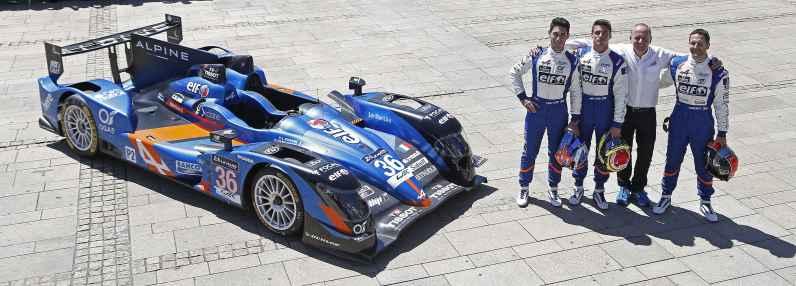CAPILLAIRE Vincent CHATIN Paul Loup PANCIATICI Nelson (ALPINE A450-B Signatech Alpine Le Mans