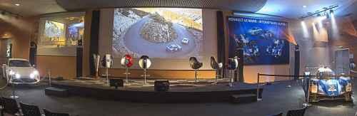 Alpine en visite à l'Usine Renault du Mans