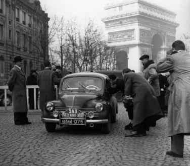 Rallye Monte-Carlo - Renault 4CV de Louis Pons 1951