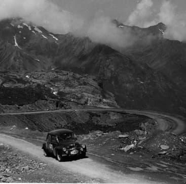 Rallye des Alpes - 1952