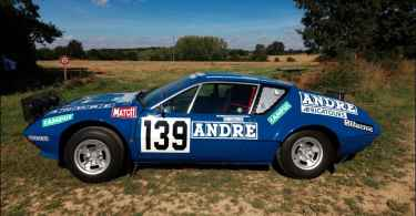 Alpine A310 Paris-Dakar 1981