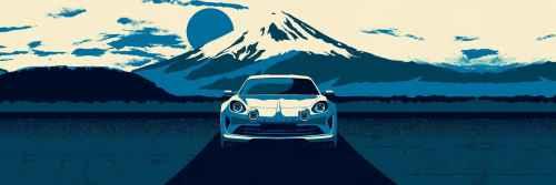 L'Alpine Vision débarque à Tokyo !