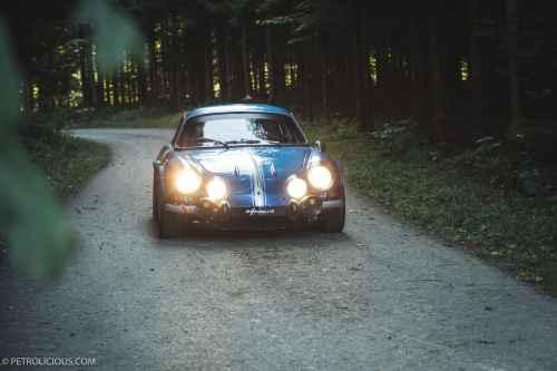 Alpine A110 1600S 1971 sur Petrolicious
