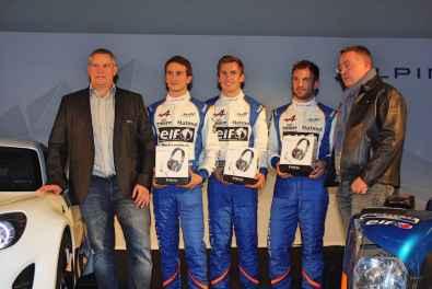 Partenariat Signatech Alpine Focal Prologue Castellet WEC - 2