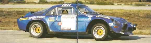 alpine A110 groupe 5