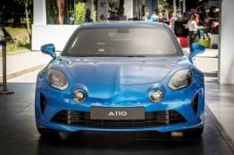 Alpine A110 2017 Mickael van der sande Parco Valentino - Salone dell'Auto di Torino - 7
