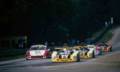 24 Heures du Mans 1978 pironi jabouille depailler jaussaud bell ragnotti frequelin a443 a442b a442a a442 victoire - 22