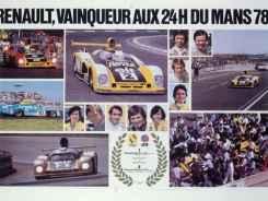 24 Heures du Mans 1978 pironi jabouille depailler jaussaud bell ragnotti frequelin a443 a442b a442a a442 victoire - 30