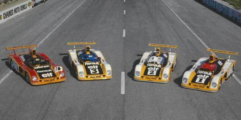 24 Heures du Mans 1978 pironi jabouille depailler jaussaud bell ragnotti frequelin a443 a442b a442a a442 victoire - 7