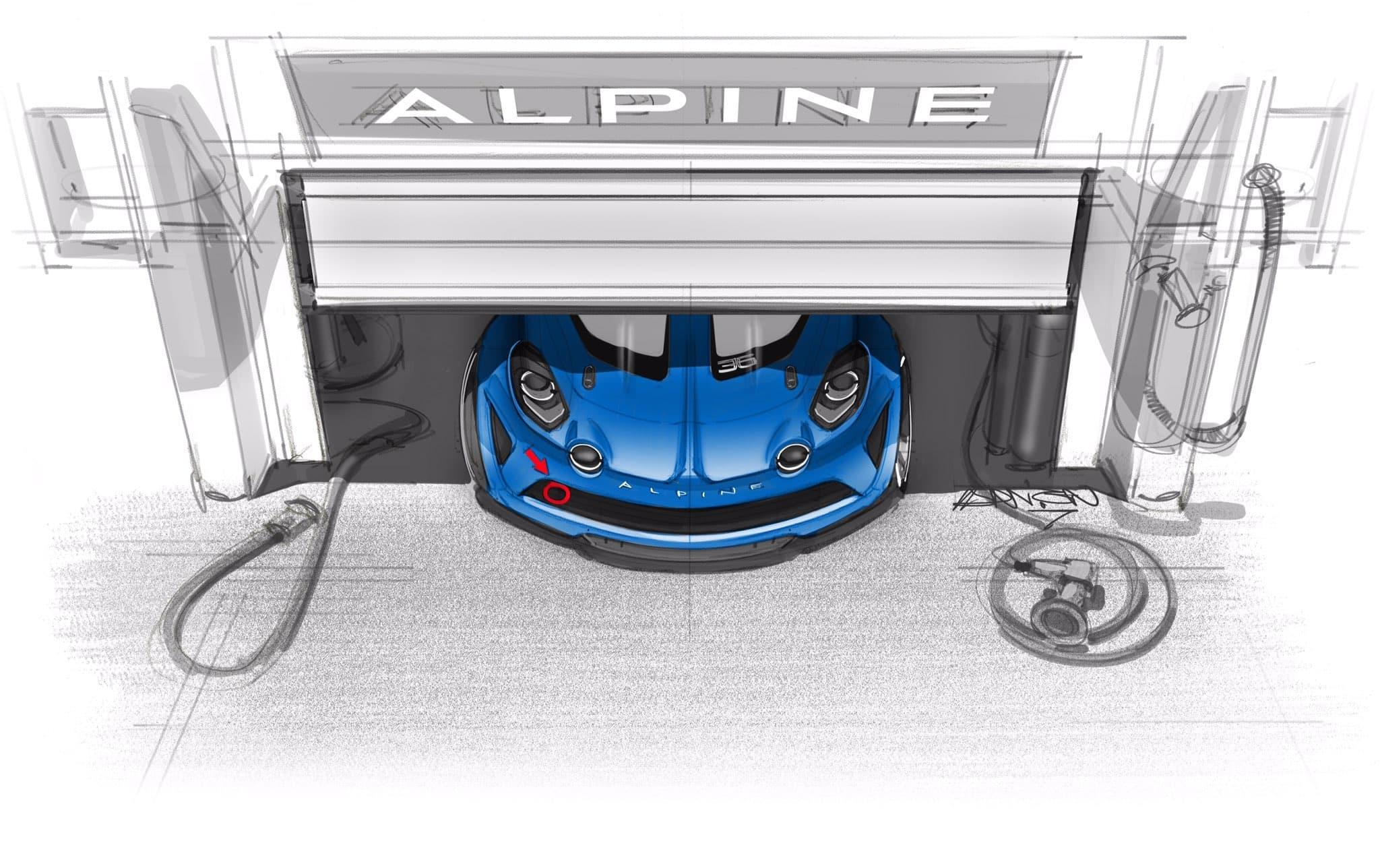 Alpine A110 Cup