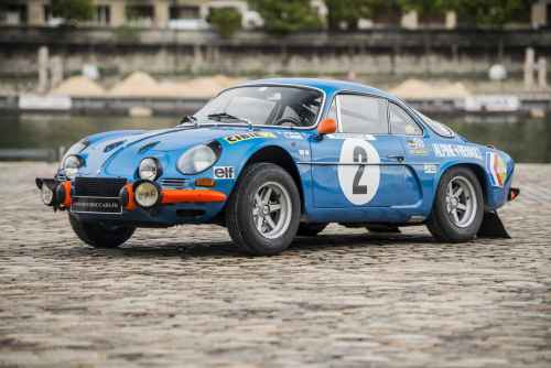 L'Alpine A110 1600S Usine ex Jean-Pierre Nicolas est à vendre !