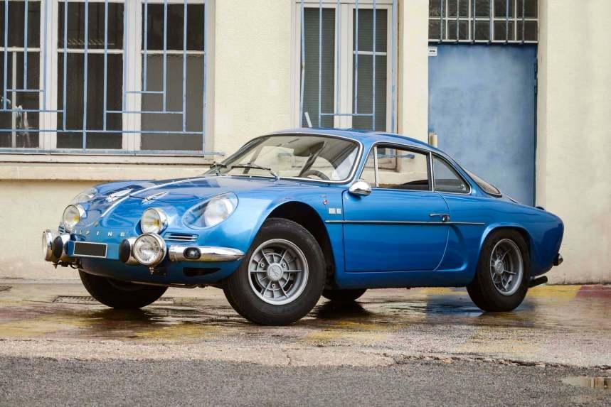 Vente Leclere: une superbe Alpine A110 1300 G de 1969 !