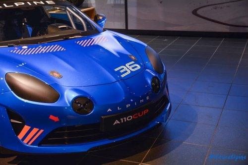 L'Alpine A110 Cup en détail sous l'oeil de GPE Auto !