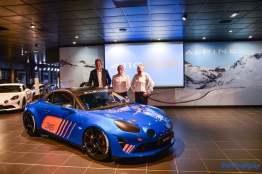 Alpine A110 Cup Signatech Studio Boulogne Billancourt GPE Auto - 16