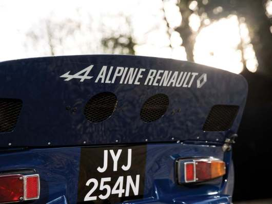 Alpine A110 B Vialle 1974 Rally cross (10)