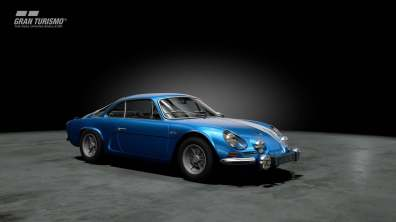 Alpine A110 1600S '72 GT Sport Gran Turismo Berlinette PS4 Playstation 4 Polyphony Digital DLC