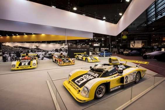 Alpine célèbre sa victoire aux 24H du Mans 78