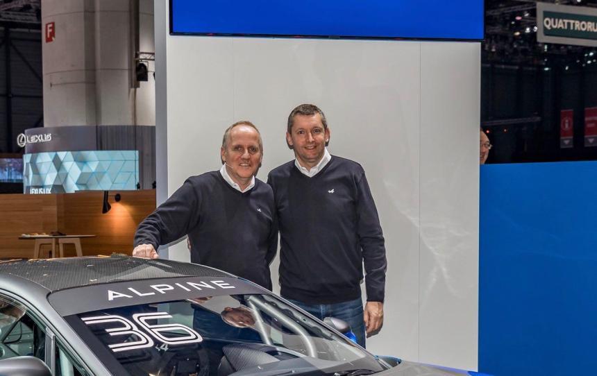 [Genève 2018] Interview Philippe Sinault, Directeur du team Signatech Alpine