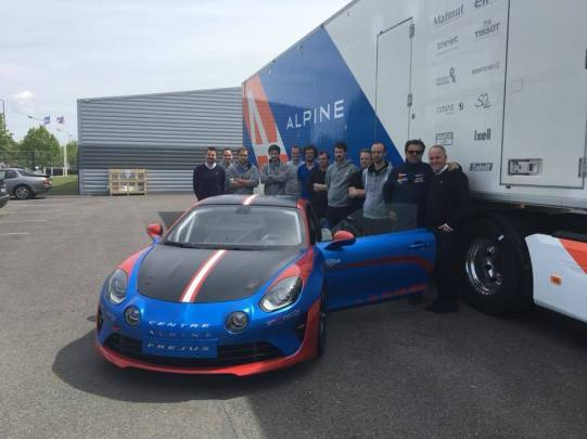 Alpine Planet A110 Europa Cup Signatech Ghostrider racing cmr - 5